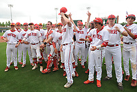 NWA Democrat-Gazette/ANDY SHUPE<br /> Springdale Har-Ber Cabot Friday, May 19, 2017, during the Class 7A state championship game at Baum Stadium in Fayetteville. Visit nwadg.com/photos to see more photographs from the game.