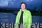 Mary Harris, first time in the Kerry's Eye Tralee International Marathon, out training on Tuesday night