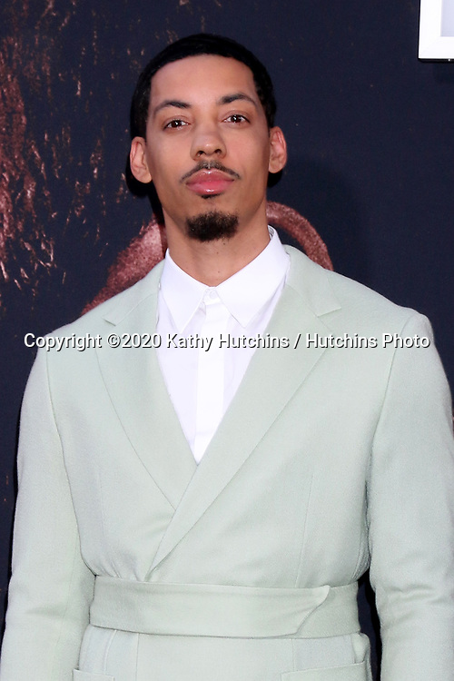 LOS ANGELES - MAR 1:  Melvin Gregg at the The Way Back Premiere at the Regal LA Live on March 1, 2020 in Los Angeles, CA