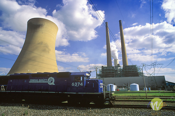 Comemaugh coal generation plant, Fayette County, PA. 1996