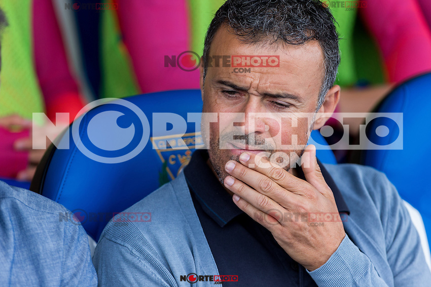 FC Barcelona's coach Luis Enrique Martinez during the match of La Liga between Club Deportivo Leganes and Futbol Club Barcelona at Butarque Estadium in Leganes. September 17, 2016. (ALTERPHOTOS/Rodrigo Jimenez) /NORTEPHOTO