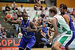 Basketball Champions League 2017/18 - Previus.<br /> Divina Seguros Joventut vs Dinamo Tbilisi: 86-66.<br /> Malik Story vs Simon Birgander.