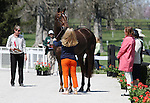 April 23, 2014: Arthur and Allison Springer during the first horse inspection at the Rolex Three Day Event in Lexington, KY at the Kentucky Horse Park.  Candice Chavez/ESW/CSM
