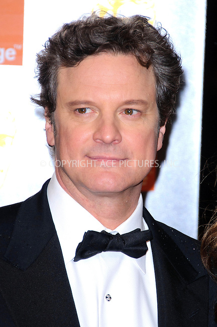 WWW.ACEPIXS.COM . . . . .  ..... . . . . US SALES ONLY . . . . .....February 13 2011, London....Colin Firth arriving at the 2011 Orange British Academy Film Awards (Baftas) at The Royal Opera House on February 13 2011 in London....Please byline: FAMOUS-ACE PICTURES... . . . .  ....Ace Pictures, Inc:  ..Tel: (212) 243-8787..e-mail: info@acepixs.com..web: http://www.acepixs.com