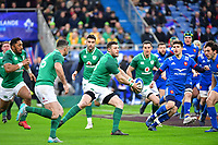 Robbie Henshaw of Ireland during the RBS Six Nations match between France and Ireland at Stade de France on February 3, 2018 in Paris, France. (Photo by Dave Winter/Icon Sport)