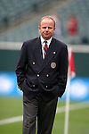 2 August 2004: The Fourth Official for the game, Kevin Terry. AC Milan of La Liga in Italy defeated Chelsea of the English Premier League 3-2 at Lincoln Financial Field in Philadelphia, PA in a ChampionsWorld Series friendly match..