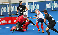 Richard Joyce during the Pro League Hockey match between the Blacksticks men and Great Britain, National Hockey Arena, Auckland, New Zealand, Saturday 8 February 2020. Photo: Simon Watts/www.bwmedia.co.nz