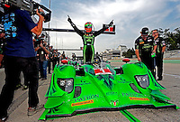 Ryan Dalziel win the pole position, IMSA Tudor Series Race, Road America, Elkhart Lake, WI, August 2014.  (Photo by Brian Cleary/ www.bcpix.com )