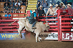 Maycon Moura during first round of the Fort Worth Stockyards Pro Rodeo event in Fort Worth, TX - 6.28.2019 Photo by Christopher Thompson