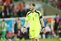 Iker Casillas (ESP), <br /> JUNE 13, 2014 - Football /Soccer : <br /> 2014 FIFA World Cup Brazil <br /> Group Match -Group B- <br /> between Spain 1-5 Netherlands <br /> at Arena Fonte Nova, Salvador, Brazil. <br /> (Photo by YUTAKA/AFLO SPORT) [1040]