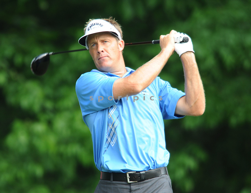 STUART APPLEBY, during the first round of the Quail Hollow Championship, on April 30, 2009 in Charlotte, NC.