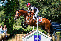 CHN-Ruiji Liang rides Crackerjack during the Cross Country for the Sema Lease CCI4*-L. 2019 IRL-Sema Lease Camphire International Horse Trials. Cappoquin. Co. Waterford. Ireland. Saturday 27 July. Copyright Photo: Libby Law Photography