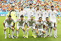Spein team group line-up, JUN 13, 2014 - Football / Soccer : FIFA World Cup Brasil<br /> match between Spain and Netherlands at the Arena Fonte Nova in Salvador de Bahia, Brasil. (Photo by AFLO) [3604]