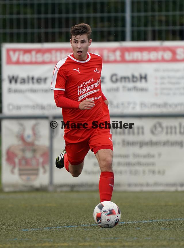 Thorben Dorer (Büttelborn) - Büttelborn 03.10.2019: SKV Büttelborn vs. FSG Riedrode, Gruppenliga Darmstadt