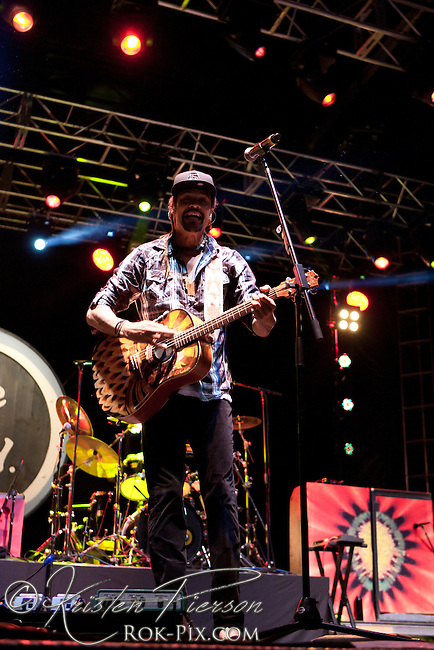 Michael Franti and Spearhead performs at the Life is Good Festival on September 22, 2012 in Canton, Massachusetts © Kristen Pierson