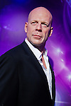 Oct. 4, 2011 - Tokyo, Japan - The wax figure of Bruce Willis is displayed at the Madame Tussauds museum exhibit. The world's 13th Madame Tussauds museum showcases 19 wax figures of  celebrity musicians and movie stars. (Photo by Christopher Jue/AFLO)