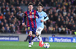 11.03.2015 Barcelona.UEFA champions League. Rounf 0f 16 2nd leg. Picture show Leo Messi durring game between FC Barcelona against Manchester city at Camp Nou
