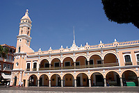 The Palacio Municipal or Municipal Palace on the Plaza de Armas, city of Veracruz, Mexico