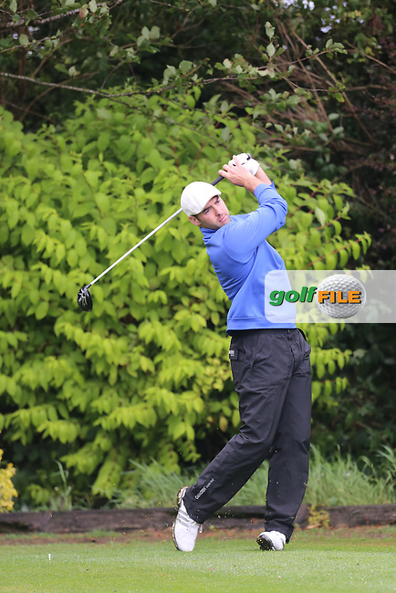 David Laird (Strabane) during the Ulster Mixed Foursomes Final, Shandon Park Golf Club, Belfast. 19/08/2016<br /> <br /> Picture Jenny Matthews / Golffile.ie<br /> <br /> All photo usage must carry mandatory copyright credit (&copy; Golffile | Jenny Matthews)