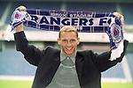 Danish wonderkid Peter Løvenkrands signs for Rangers in June 2000