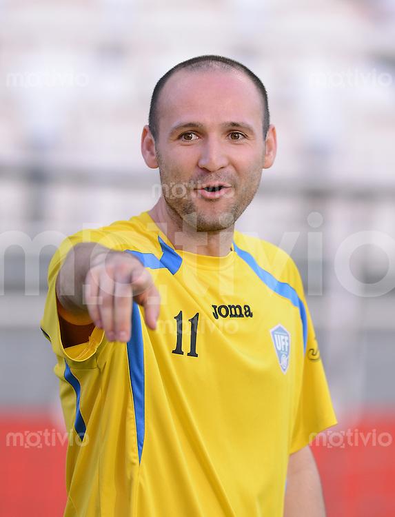 FUSSBALL   INTERNATIONAL    Vereinigte Arabische Emirate - Usbekistan     22.03.2013 Marat BIKMAEV (Usbekistan)