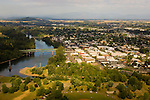 Aerial View of Lebanon, Oregon