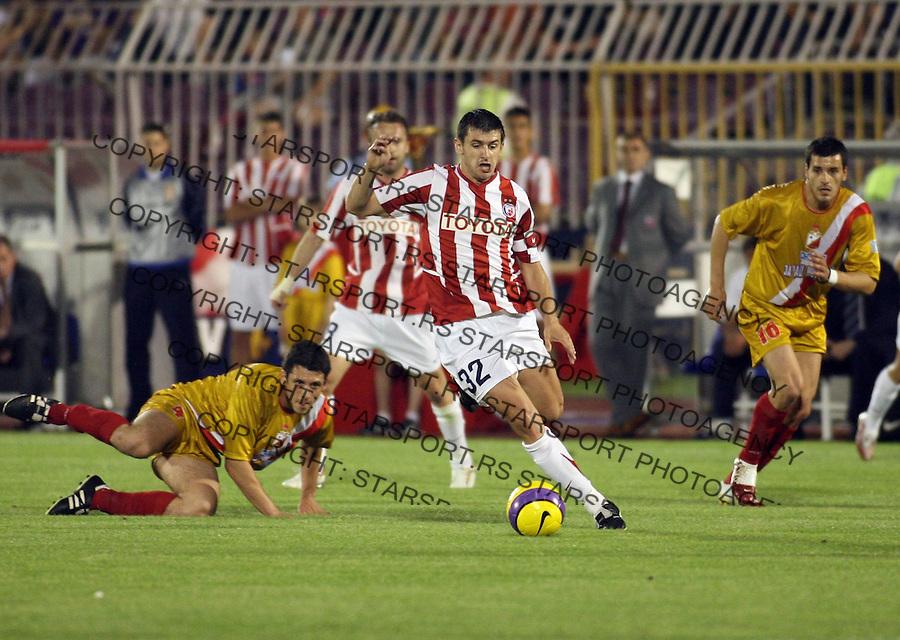 Sport Fudbal Soccer Football Finale Kup Srbija Srbije Serbia Belgrade Crvena Zvezda Vojvodina Red Star  Dejan Milovanovic 15.5.2007. photo: Pedja Milosavljevic