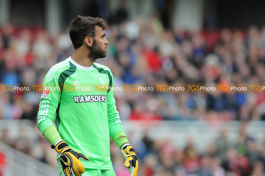 Tomás Mejías of Middlesbrough - Middlesbrough vs Sheffield Wednesday - Sky Bet Championship Football at the Riverside Stadium, Middlesbrough - 23/08/14 - MANDATORY CREDIT: Steven White/TGSPHOTO - Self billing applies where appropriate - contact@tgsphoto.co.uk - NO UNPAID USE
