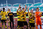 Borussia Dortmund Borussia Dortmund Defender Marc Bartra (C) and his teammates interacting with supporters during the International Champions Cup 2017 match between AC Milan vs Borussia Dortmund at University Town Sports Centre Stadium on July 18, 2017 in Guangzhou, China. Photo by Marcio Rodrigo Machado / Power Sport Images