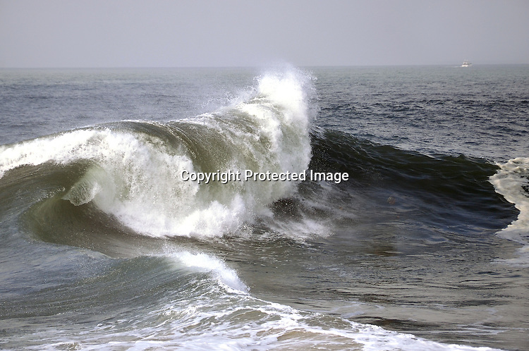 Royalty Free Photo of a Storm Wave