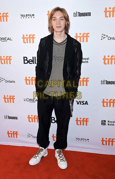 11 September 2017 - Toronto, Ontario Canada - Charlie Plummer. 2017 Toronto International Film Festival - &quot;Lean On Pete&quot; Premiere held at The Elgin. <br /> CAP/ADM/BPC<br /> &copy;BPC/ADM/Capital Pictures
