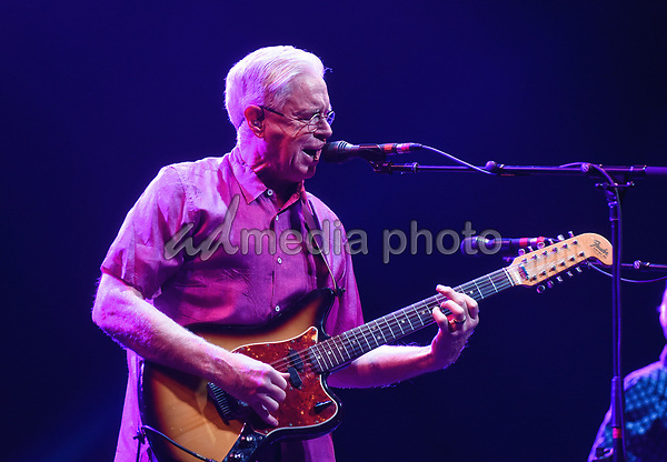 30 September 2017 - Hamilton, Ontario, Canada.  Canadian singer-songwriter Bruce Cockburn performs on stage during his Bone On Bone Tour held at the FirstOntario Concert Hall.  Photo Credit: Brent Perniac/AdMedia