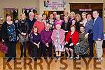 Mary Jo Prendiville Abbeyfeale celebrated her 90th. Birthday with family &amp; friends last Friday night in the Grove. ( Abbeyfeale Rugby Clubhouse)<br /> Mary Jo is well known for treading the boards in such plays as The Field, Many Young Men Of Twenty, The Highest House On The Mountain, Billy Liar  just to mention a few. Further more she has written many a comedy sketch &amp; composed numerous poems which have been performed in  halls &amp; theatres throughout Ireland.<br />  Hundreds of well wishers  attended her Birthday party, not only from Abbeyfeale but from England , America &amp; the the 4 corners of Ireland, which is  a testimony to Mary Jo's popularity.<br /> <br /> Mary Jo 1.<br /> Mary Jo Prendiville pictured with her family &amp;  life long Neighbours .<br /> Seated: Pat Tuohy, Billy Scannell, Mary Jo, Marie Tuohy, Josie Foley,<br /> Stamding, Morella McCarthy ( niece) Catherine Quirke, Tom Browne, Ann Quirke, Danny Browne, Noreen Quirke, Sheila Prendiville, James McCarthy, Joan Scannell, Helen Tuohy, Pat Scannell, Maria Moloney, Majella Tuohy, Bridget Scannell, Angeline Prendiville , Patsy Prendiville.