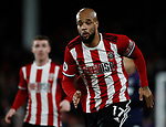 David McGoldrick of Sheffield Utd during the Premier League match at Bramall Lane, Sheffield. Picture date: 10th January 2020. Picture credit should read: Simon Bellis/Sportimage