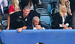 Ian Durrant and Walter Smith in the directors box