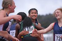 Marielle Venida (Sancta Maria College). 2019 New Zealand Secondary Schools Athletics Championships at Newtown Park in Wellington, New Zealand on Saturday, 7 December 2019. Photo: Dave Lintott / lintottphoto.co.nz