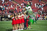 STANFORD, CA - September 21, 2013:  The Stanford Cardinal vs the Arizona State Sun Devils at Stanford Stadium in Stanford, CA. Final score Stanford Cardinal 42, Arizona State Sun Devils 28.