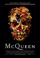 McQueen (2018) <br /> POSTER ART<br /> *Filmstill - Editorial Use Only*<br /> CAP/FB<br /> Image supplied by Capital Pictures