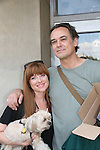 Cady McClain & Mr. Peanut (Shorki-Tzu) & Jon Lindstom - As The World Turns' shoots its last show on June 23, 2010 at the studios in Brooklyn, New York. (Photo by Sue Coflin/Max Photos)