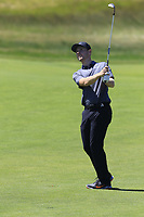 Harry Ellis (AM)(ENG) plays his 3rd shot on the 14th hole during Thursday's Round 1 of the 118th U.S. Open Championship 2018, held at Shinnecock Hills Club, Southampton, New Jersey, USA. 14th June 2018.<br /> Picture: Eoin Clarke | Golffile<br /> <br /> <br /> All photos usage must carry mandatory copyright credit (&copy; Golffile | Eoin Clarke)