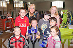 Students from Blennerville School Pictured at the steps to engineering and Science show at Presentation National School on Friday Front row left to right - Zack O'Connor, Shannon Quill.  Back row Left to.right - Ronan Murray, Sue McGrath, Sean Trant, Zach Brosnan, Michael Daly and Yvette Daly