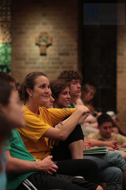 Mass in Keenan-Stanford Chapel