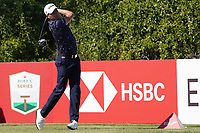 Benjamin Hebert (FRA) on the 6th tee during Round 2 of the Abu Dhabi HSBC Championship 2020 at the Abu Dhabi Golf Club, Abu Dhabi, United Arab Emirates. 17/01/2020<br /> Picture: Golffile   Thos Caffrey<br /> <br /> <br /> All photo usage must carry mandatory copyright credit (© Golffile   Thos Caffrey)
