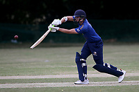 George Ballington of Shenfield during Harold Wood CC vs Shenfield CC (batting), Essex Cricket League Cricket at Harold Wood Park on 25th July 2020