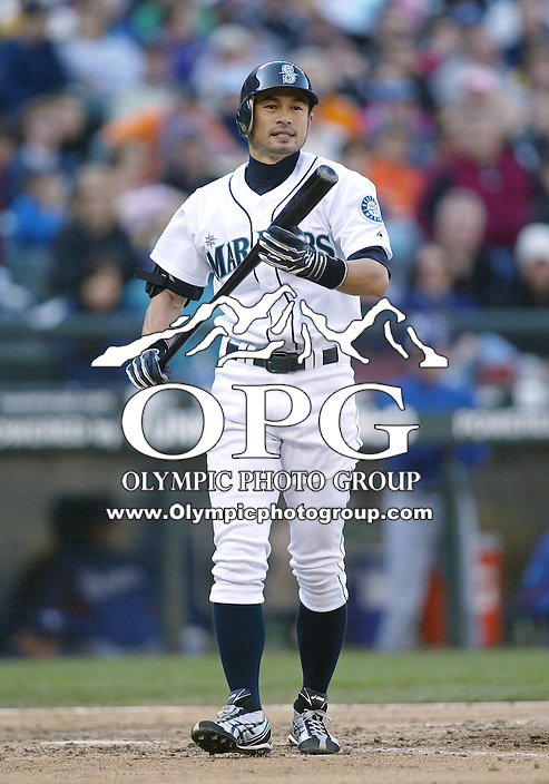 04 October 2009: Seattle Mariners right fielder #51 Ichiro Suzuki walks back to the duggout after striking out in the 8th inning against the Texas Rangers. Seattle won 4-3 over the Texas Rangers at Safeco Field in Seattle, Washington.