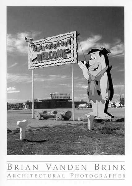 FRED FLINTSTONE CAMPGROUND<br /> Bedrock City<br /> Valle, Arizona © Brian Vanden Brink, 2004