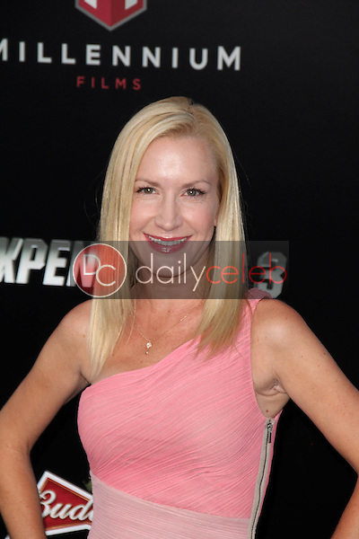 Angela Kinsey<br /> at &quot;The Expendables 3&quot; Los Angeles Premiere, TCL Chinese Theater, Hollywood, CA 08-11-14<br /> David Edwards/Dailyceleb.com 818-249-4998
