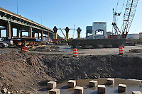 Pearl Harbor Memorial Bridge Project B1 Contract 92-618. Progress Photography December 2009. Shoot Four of the every 4 month Chronological Documentation.