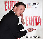 Will Chase.attending the Broadway Opening Night Performance of 'EVITA' at the Marquis Theatre in New York City on 4/6/2012