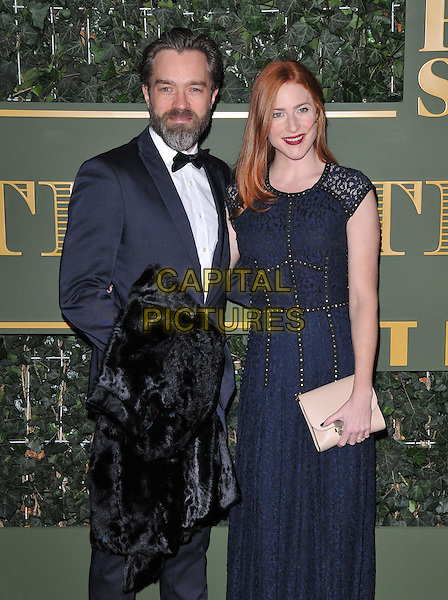 Hadley Fraser &amp; Rosalie Craig attend the London Evening Standard Theatre Awards 2015, The Old Vic, The Cut, London, England, UK, on Sunday 22 November 2015.<br /> CAP/CAN<br /> &copy;CAN/Capital Pictures